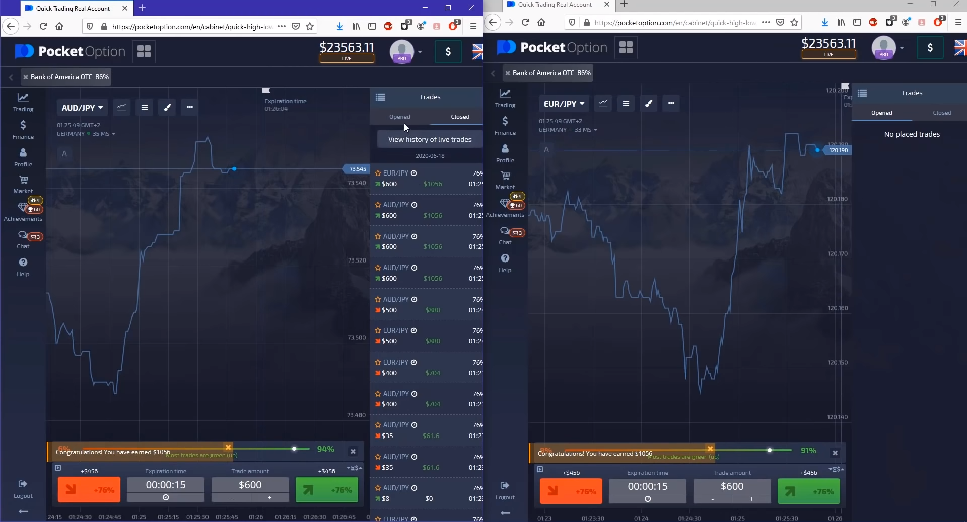 AutoArb Live Trading Data Analysis